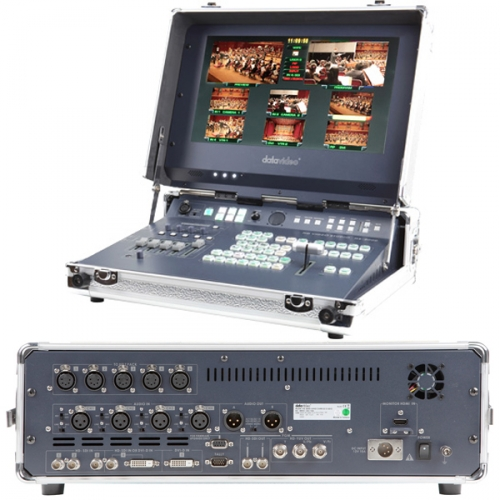 DataVideo HS-2000 5-Kanal Full-HD Mobiles Videostudio
