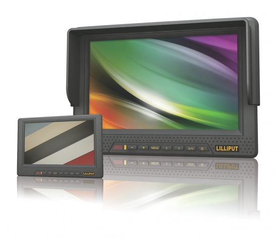 Lilliput 667GL - 7 Zoll HD-SDI, HDMI Monitor